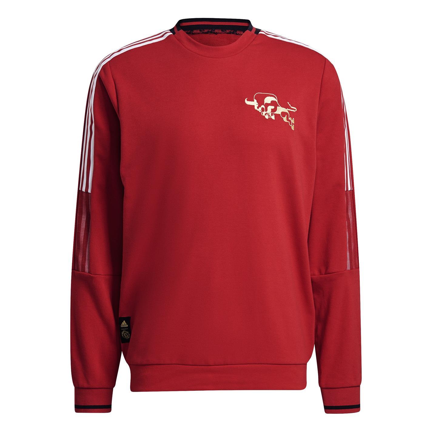 Mergi la Bluza de trening adidas Manchester United Chinese New Year pentru Barbati real rosu
