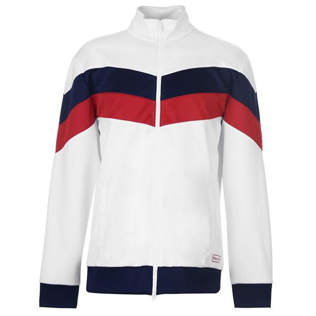 Mergi la Bluza de trening Marc O Polo Funnel Neck alb