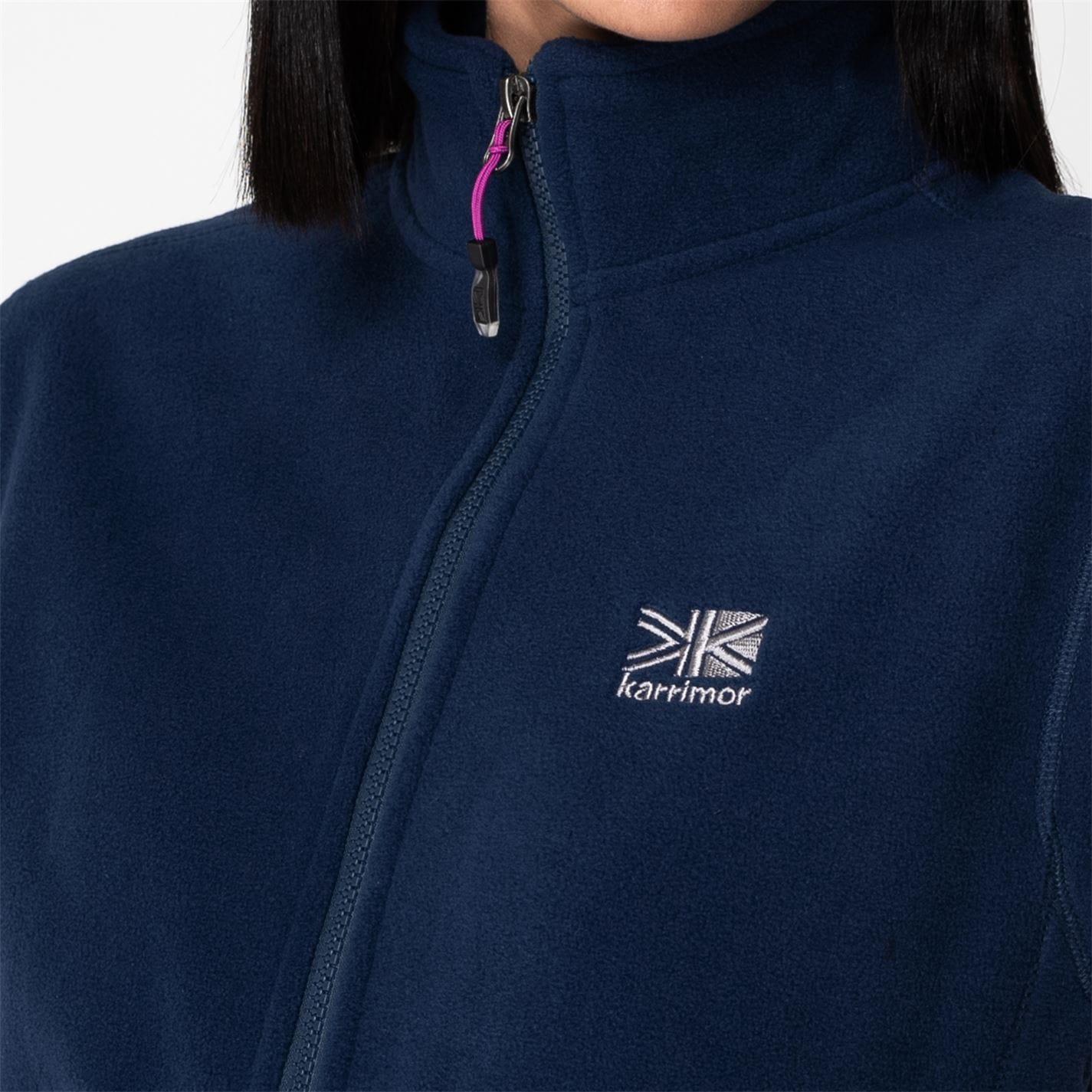 Bluze Jacheta Karrimor pentru Femei albastru bleumarin