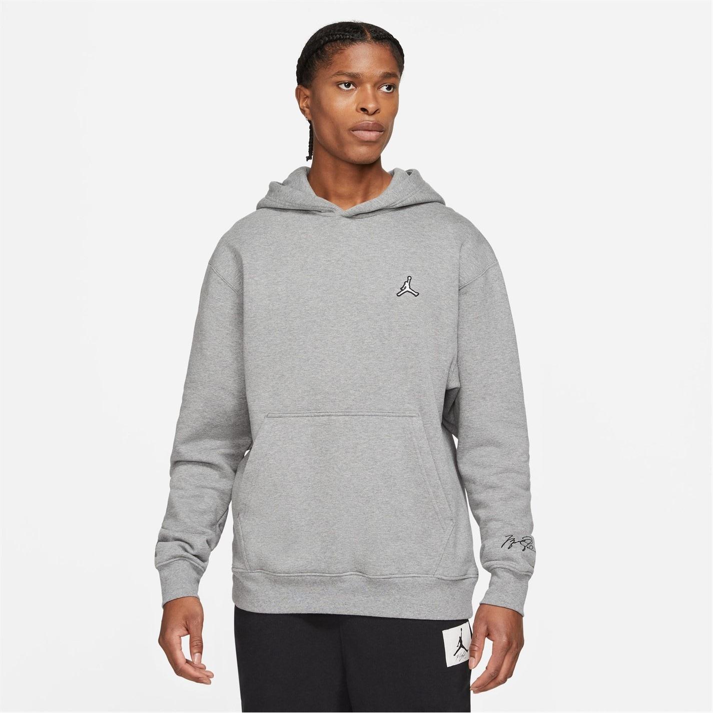 Bluze Pulovere Hanorac Air Jordan Essentials pentru Barbati gri
