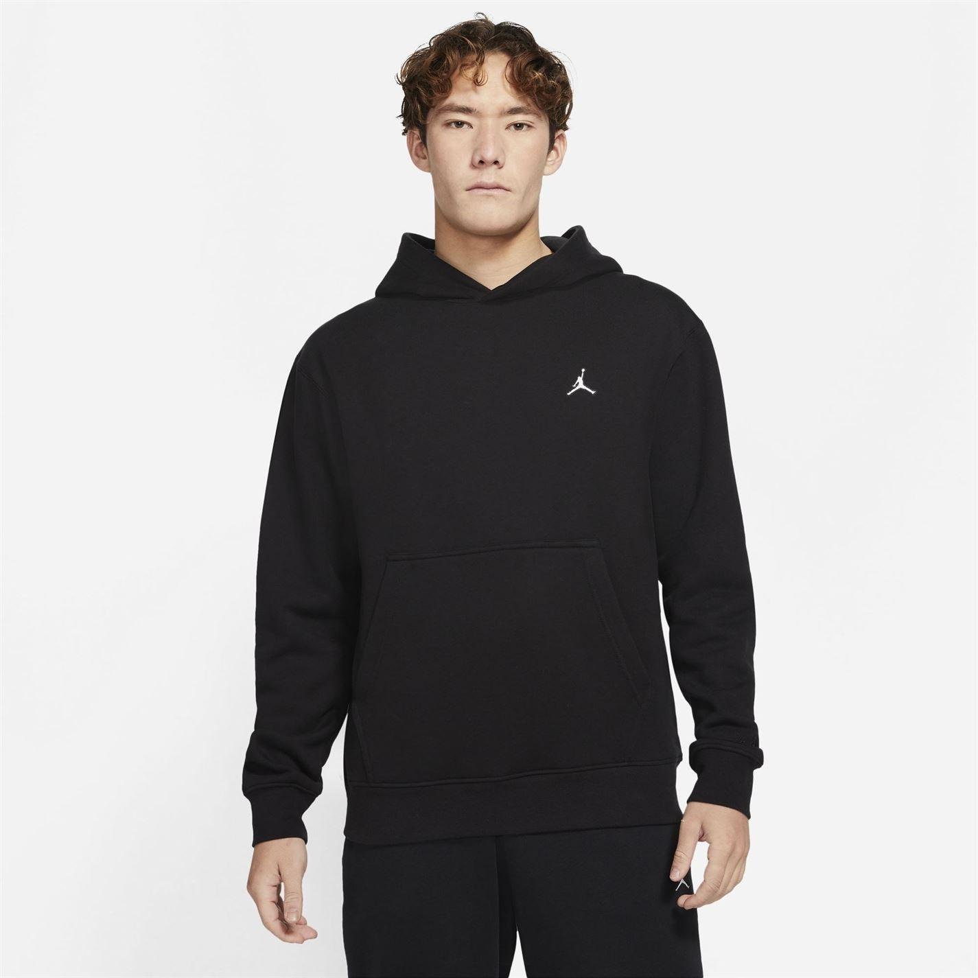 Bluze Pulovere Hanorac Air Jordan Essentials pentru Barbati negru