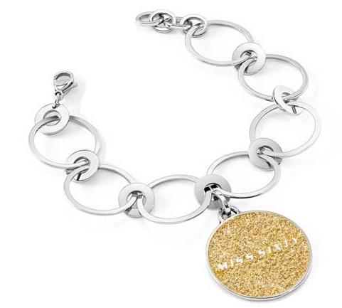 Bratari Miss Sixty Jewels Mod Divine - - Gold Silv