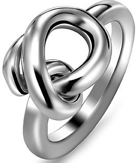 Breil Jewels Knot Collection - Anello Acc Lucido Ss Ring 14 pentru Femei