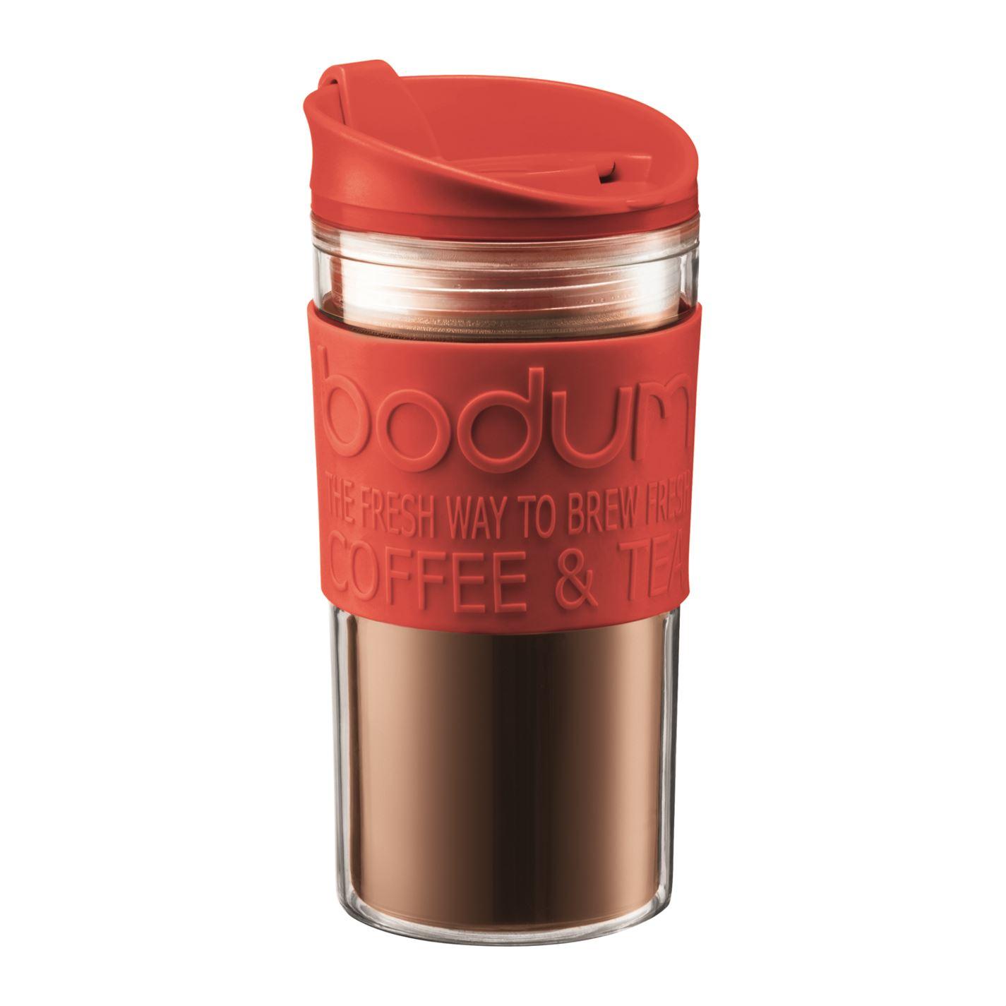 Mergi la Cana termos Bodum Double Wall rosu