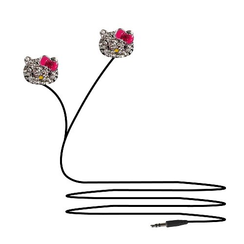 Casti In-ear Hello Kitty