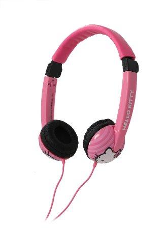 Casti Pinky Hello Kitty