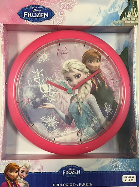 Ceas de perete Disney Frozen