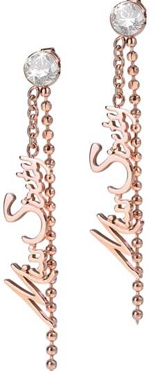 Cercei Miss Sixty Jewels Mod Linda - Rose Gold