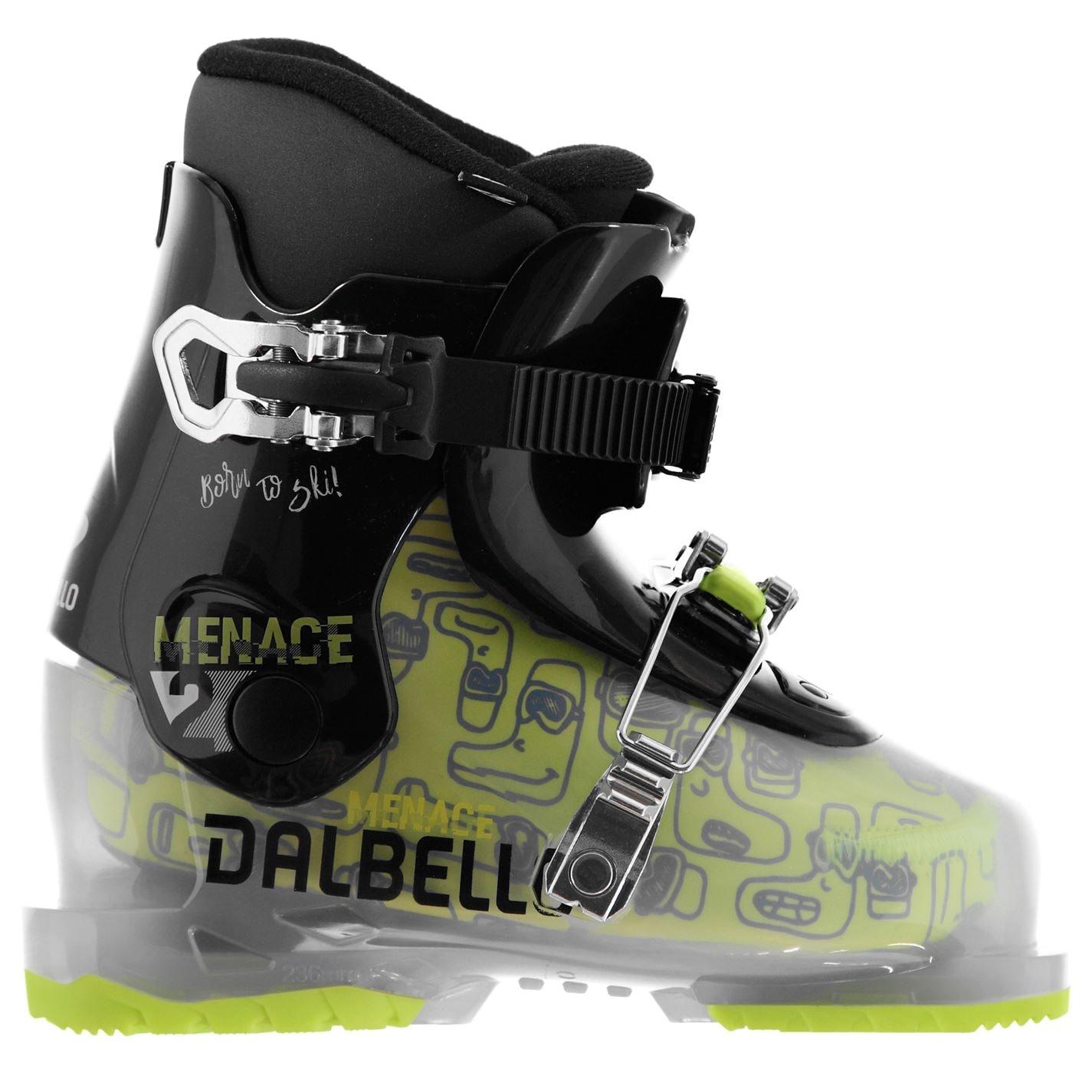 Clapari ski Dalbello Menace 2 pentru Copii trans negru