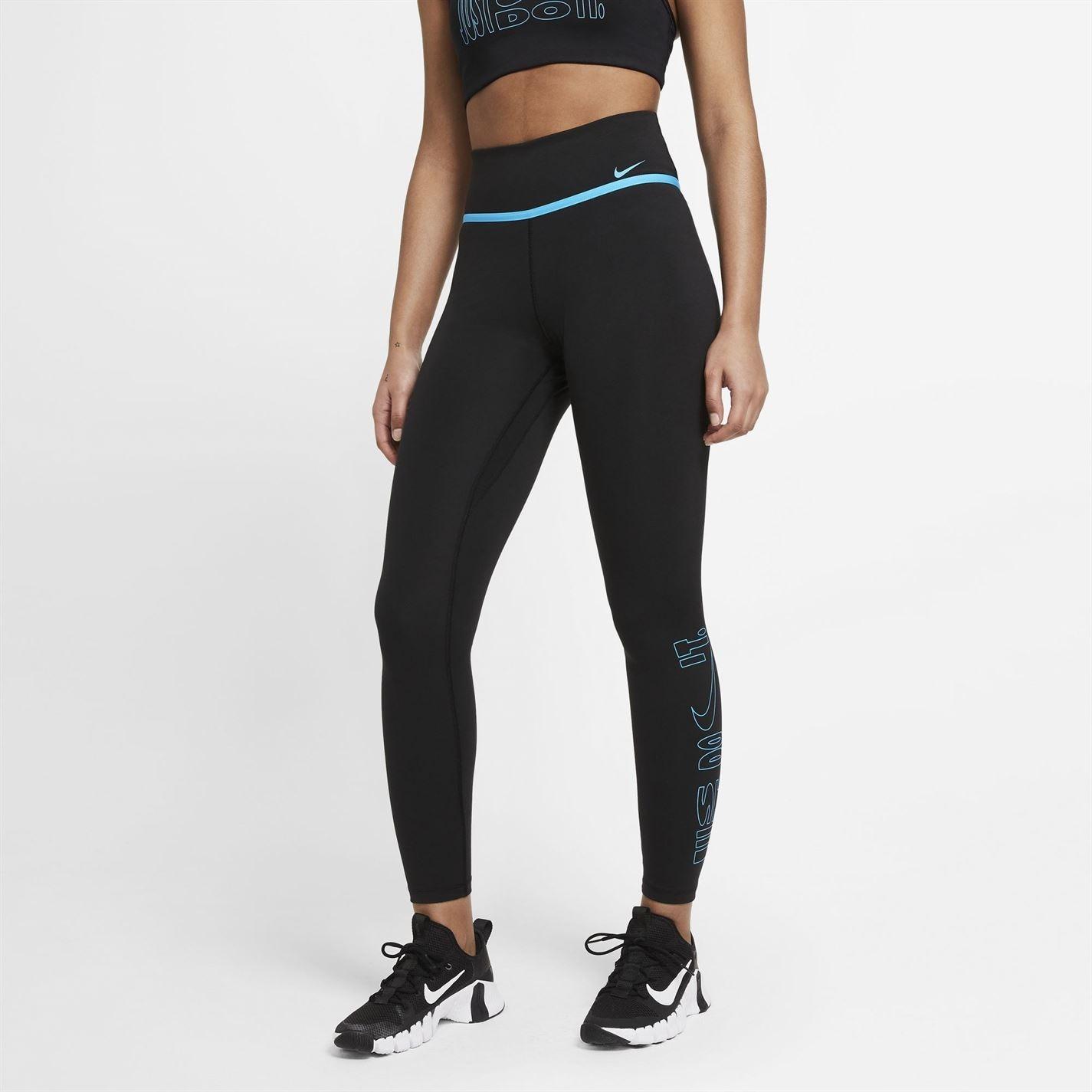 Mergi la Colanti Nike One Icon Clash 7/8 pentru femei negru
