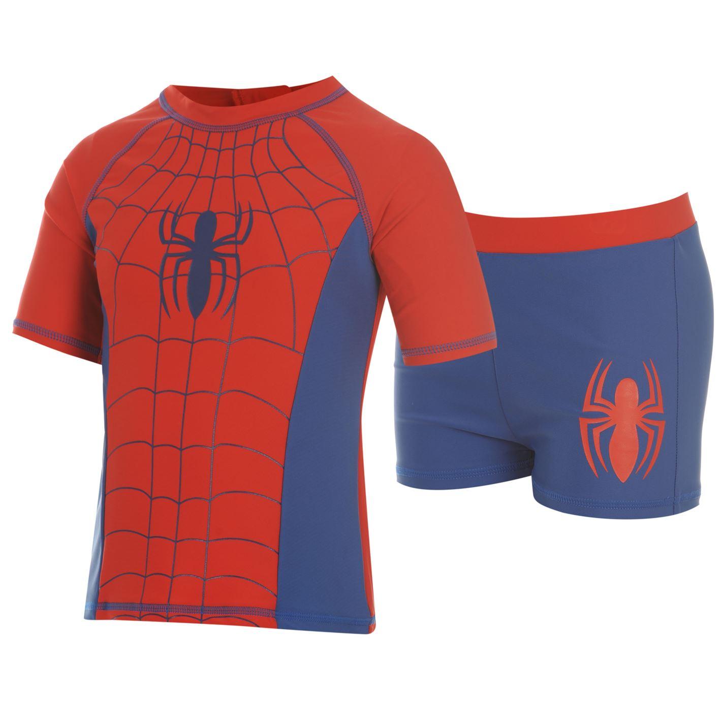 Costum De Inot Marvel Spiderman 2 Piece Pentru Bebelusi