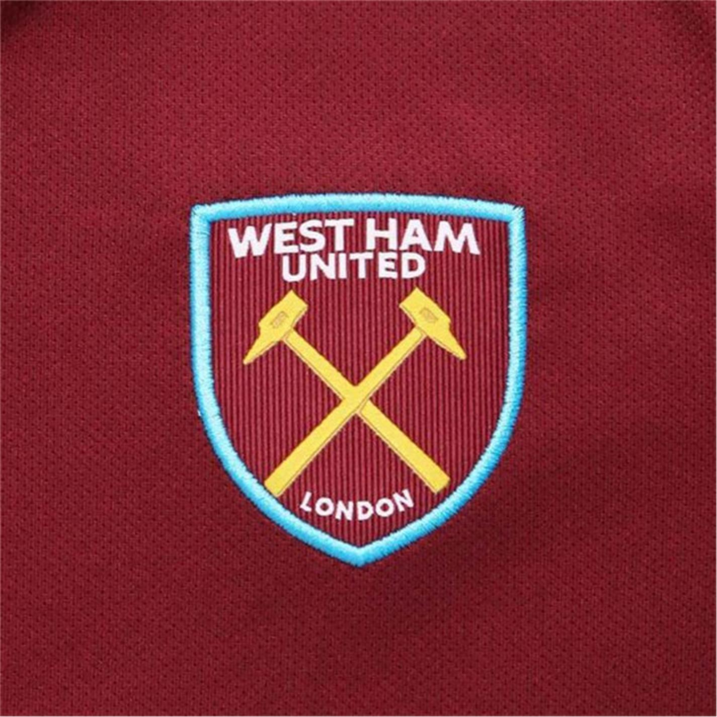 Costumase bebelusi cu echipe fotbal Umbro West Ham United 2021 2022 visiniu albastru