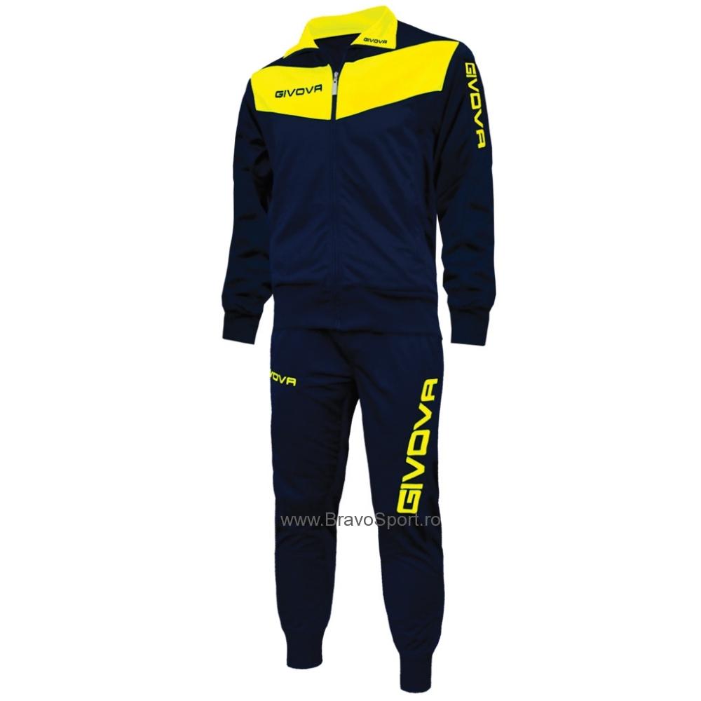 Trening TUTA VISA Echipament antrenament Givova albastru galben