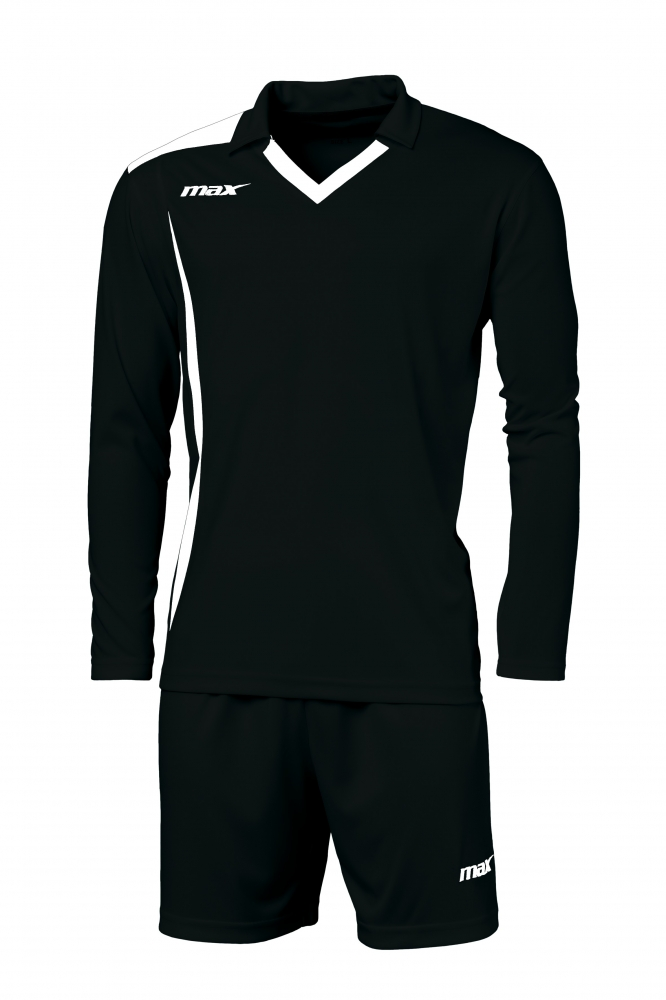 Echipament fotbal Cristallo Nero Bianco Max Sport