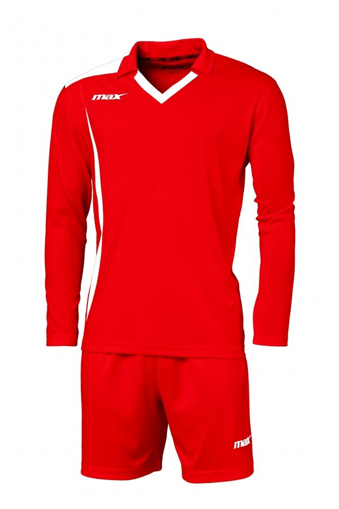 Echipament fotbal Cristallo Ros Bianco Max Sport