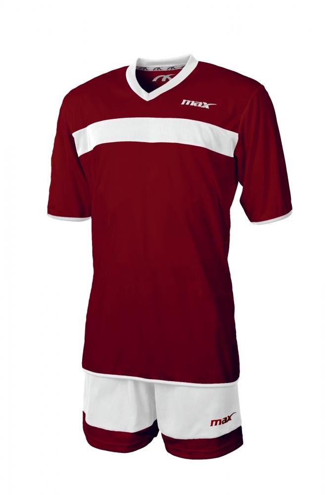 Echipament fotbal Pro Sesto Bordeaux Bianco Max Sport