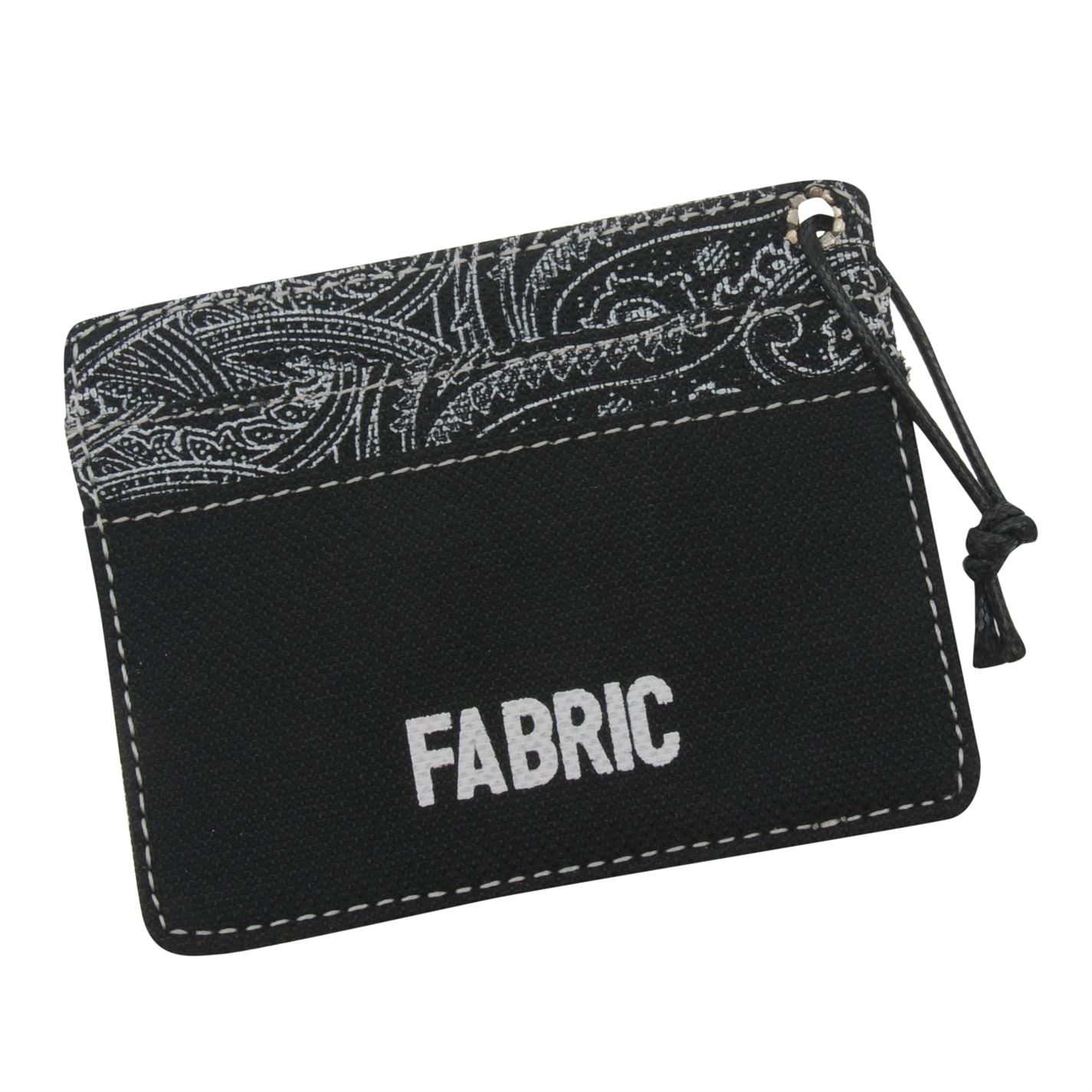 Fabric Pais Card Holder