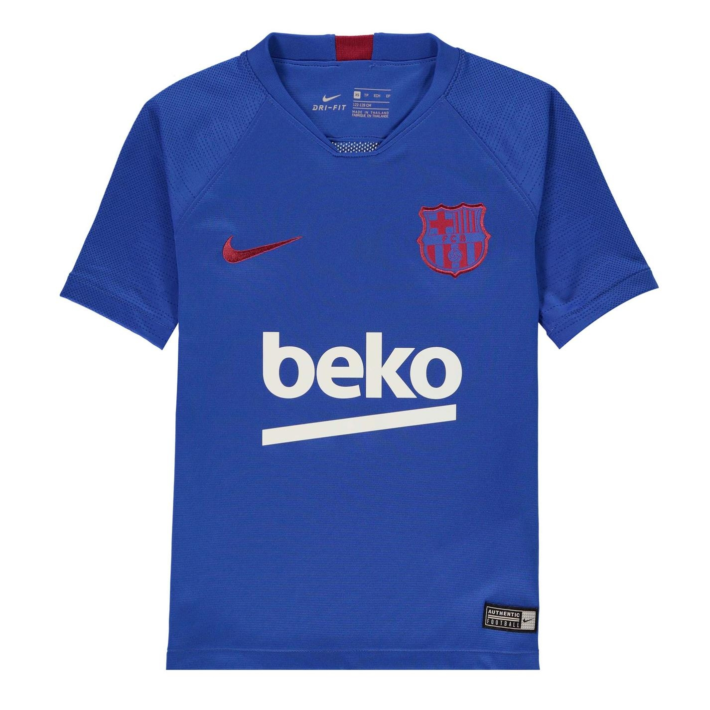 FC Barcelona FC Barcelona Strike Base Layer 2019/20 Juniors albastru