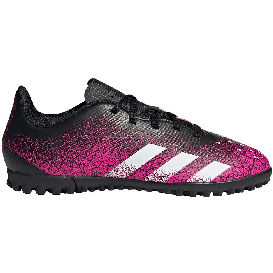 Mergi la fotbal Boots Adidas Predator Freak.4 gazon sintetic FW7537 copii