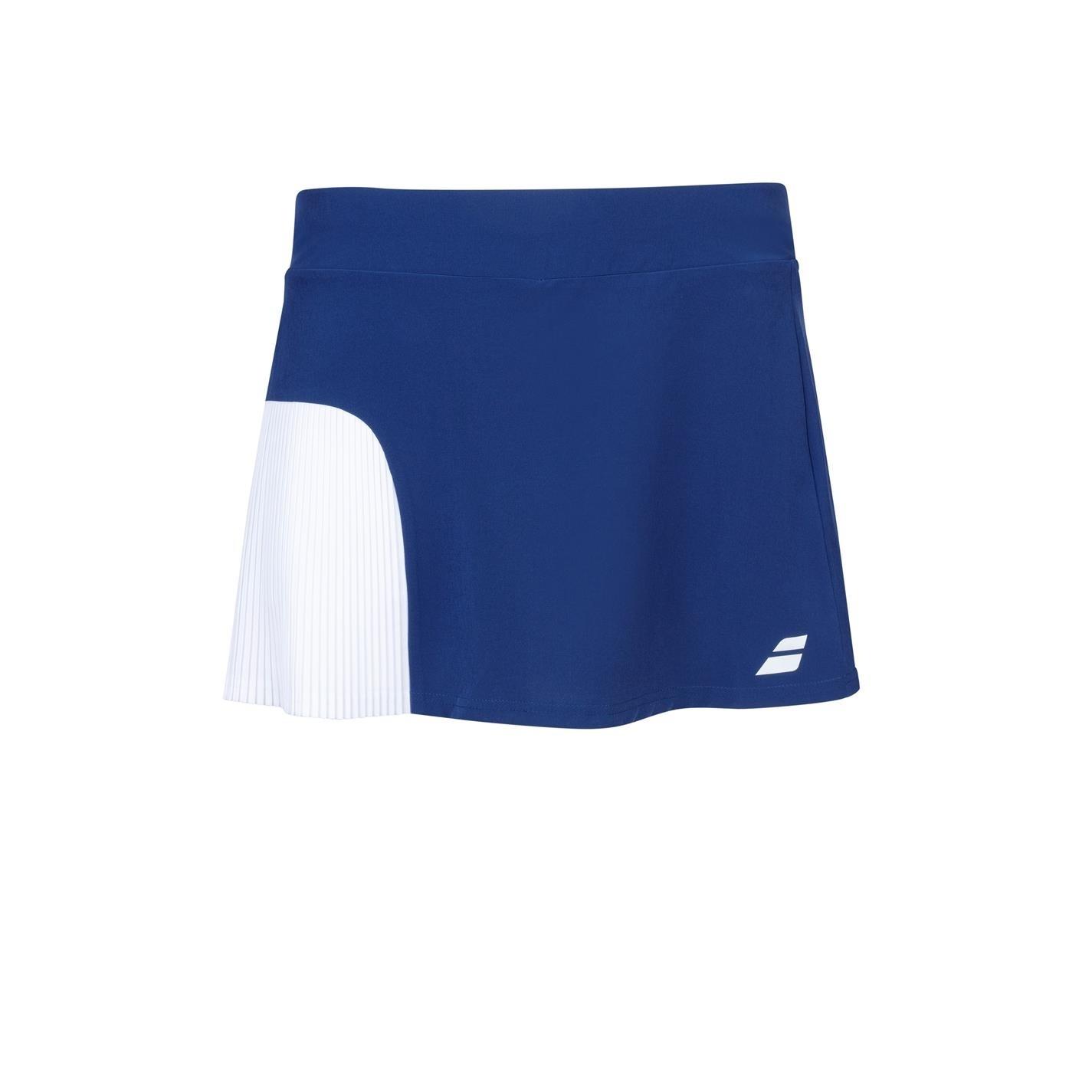 Fusta Babolat competitie tenis pentru fetite albastru