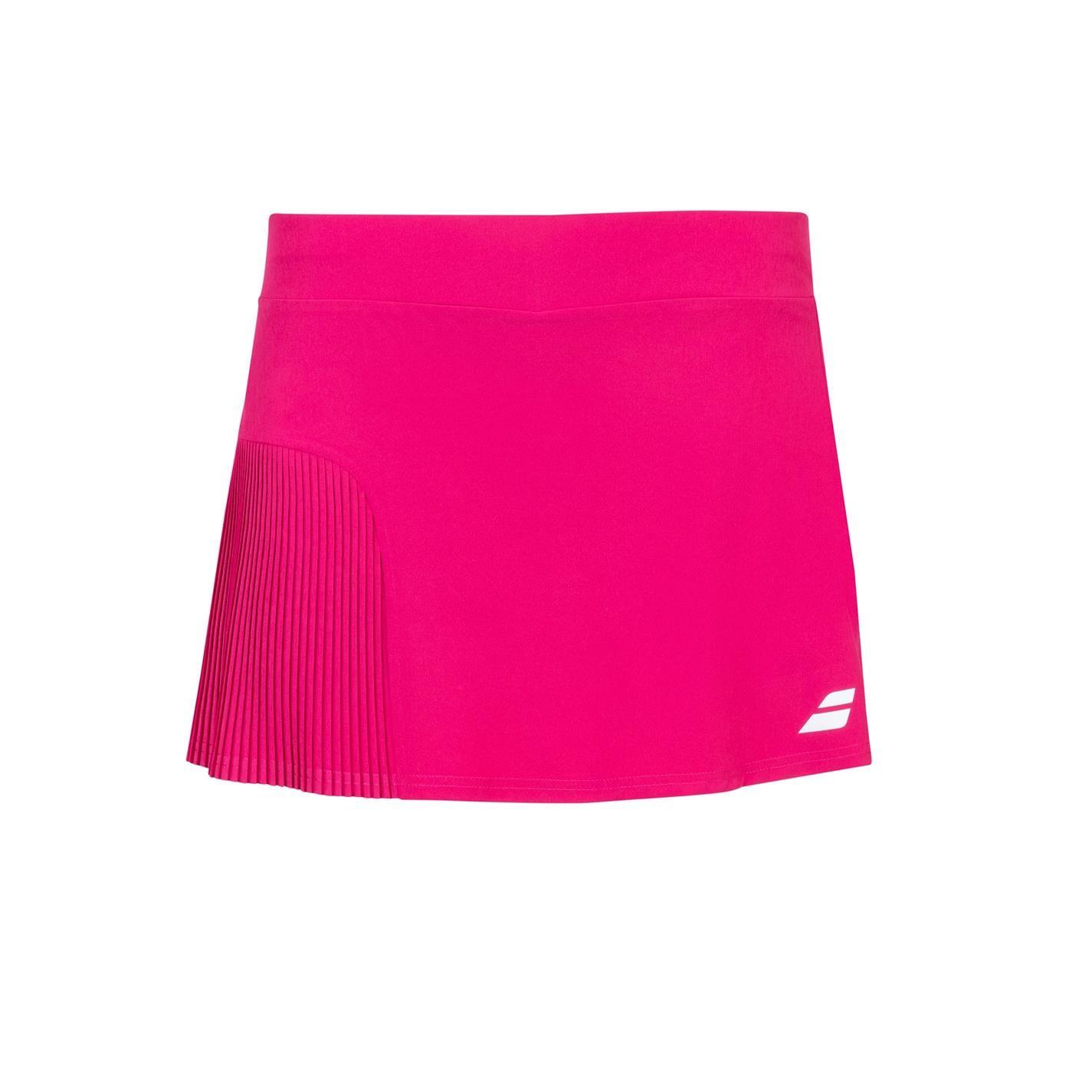Fusta Babolat competitie tenis pentru fetite rosu