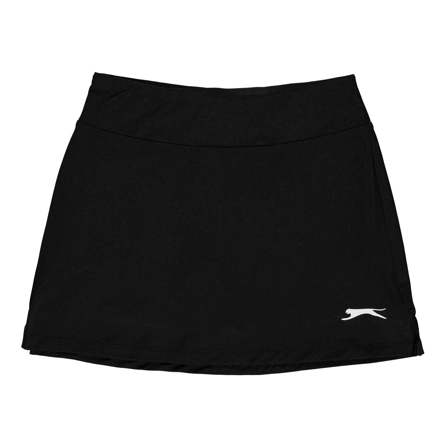 Fusta pantaloni Slazenger Court pentru fetite negru