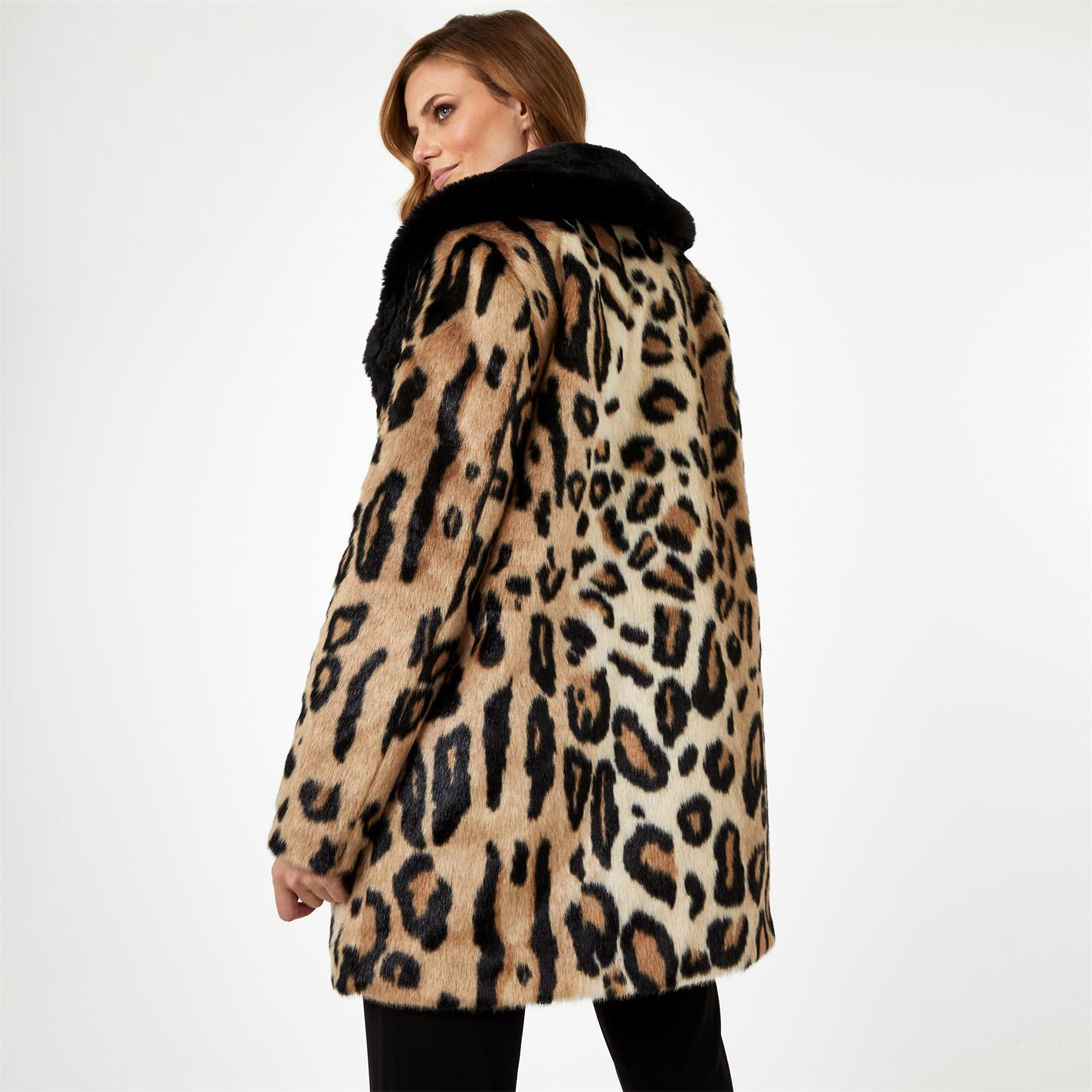 Geaca Biba BIBA x Tess Daly Leopard Print