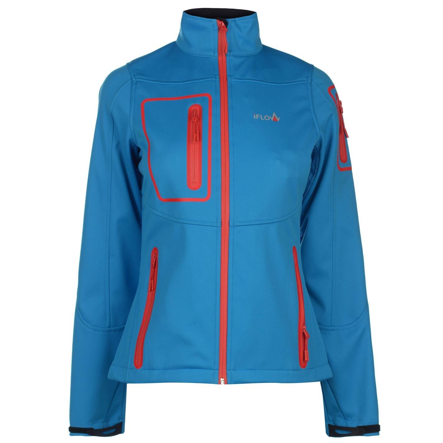 Jacheta IFlow Softshell pentru Femei albastru