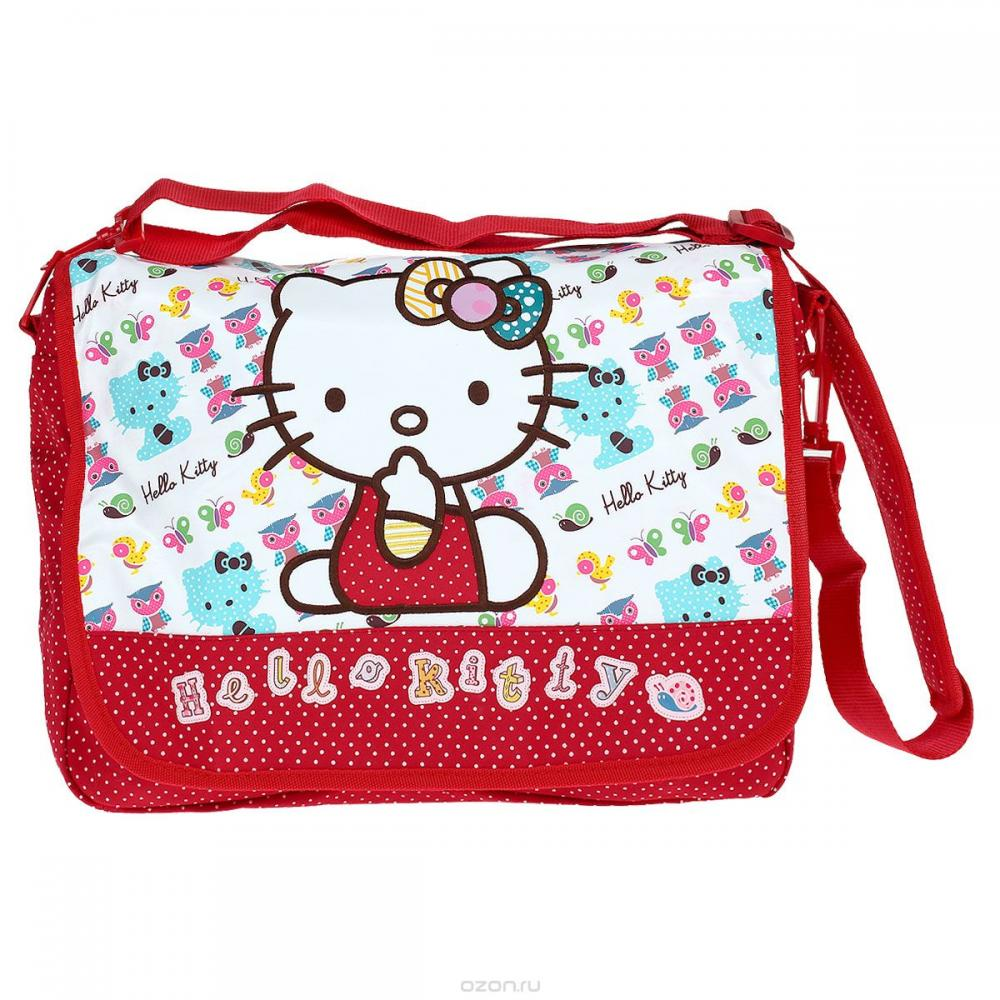 Geanta Umar rosu Hello Kitty