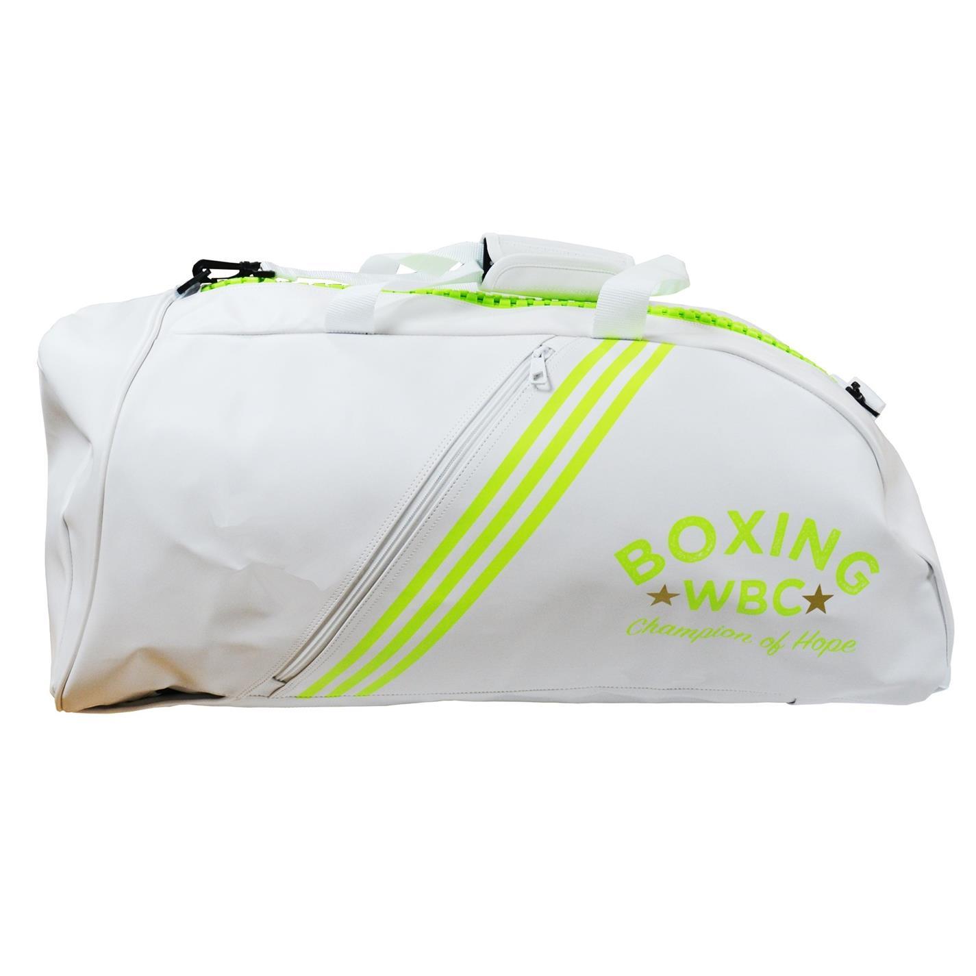 Mergi la Genti voiaj Holdall adidas 2 in 1 WBC alb verde