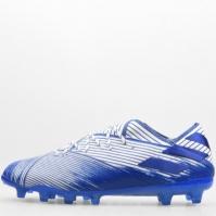 Mergi la Ghete adidas Nemeziz 19.1 gazon sintetic alb teamroyal