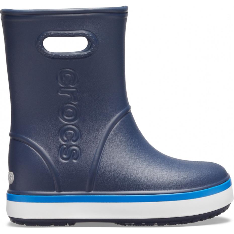 Ghete Crocs ploaie s For Crocband ploaie bleumarin 205827 4KB pentru Copii pentru Copii