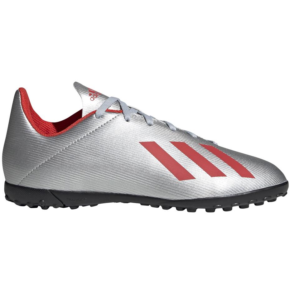 Mergi la Ghete de fotbal Adidas X 194 gazon sintetic Silver F35348 copii