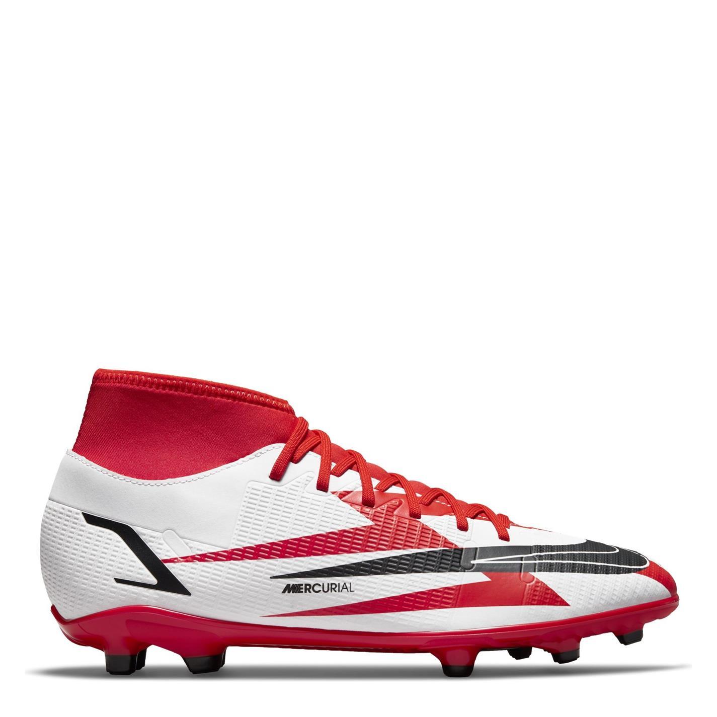 Ghete de fotbal Nike Mercurial Club CR7 DF FG chilered portocaliu