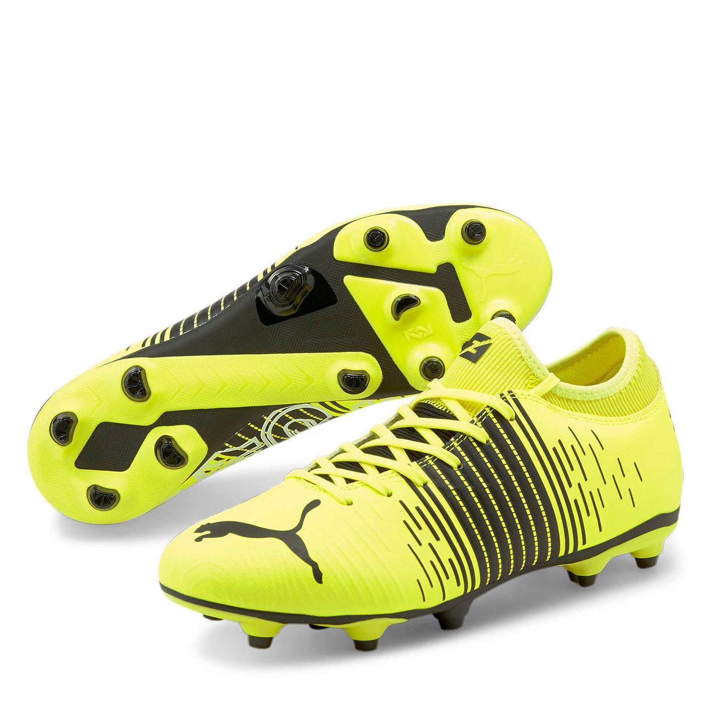 Mergi la Ghete de fotbal Puma Future Z 4.1 FG galben negru