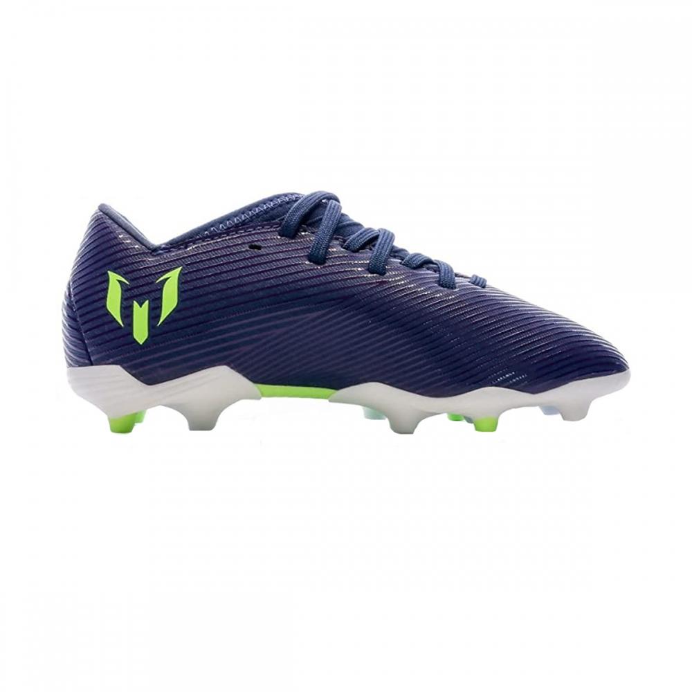 Ghete fotbal copii adidas nemeziz messi 19.3 fg j albastru