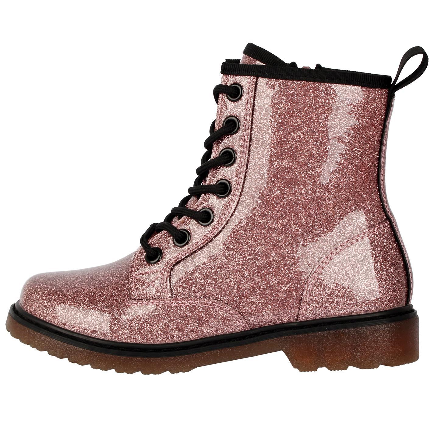 Ghete Miso Brandi Child pentru fete roz glitter