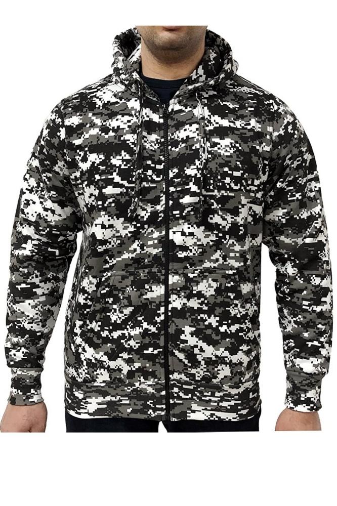 Mergi la Hanorac barbati game technical apparel zip hoodie digital urban gri