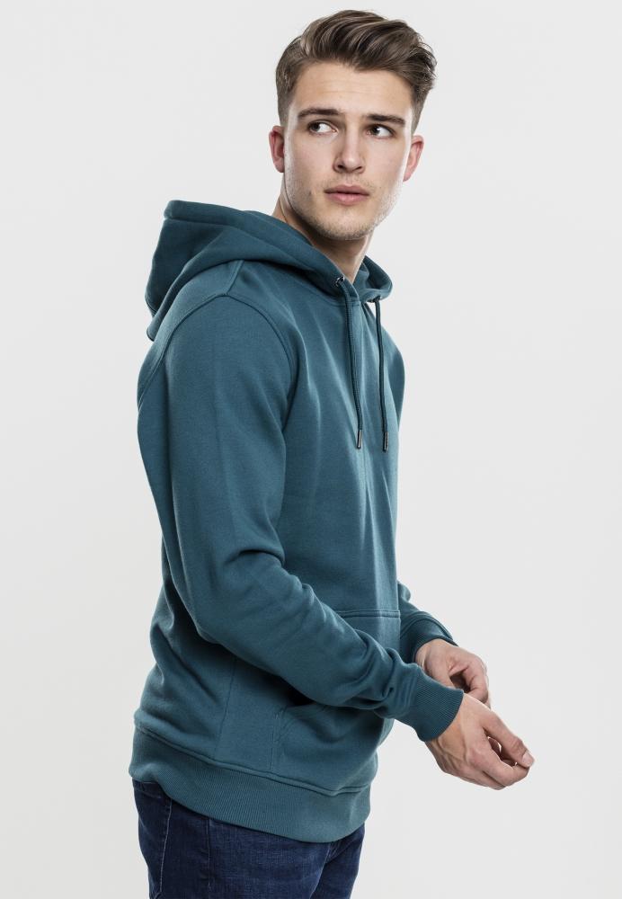 Hanorac simplu model sport Basic bleu Urban Classics