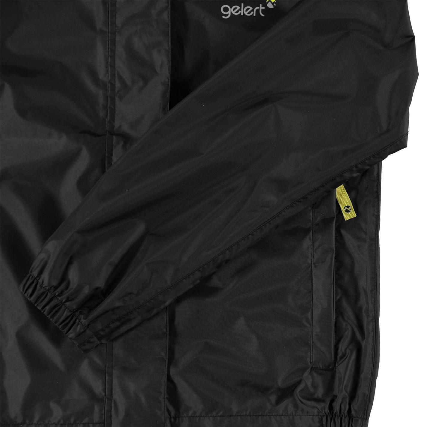 Jacheta Gelert Packaway Juniors negru