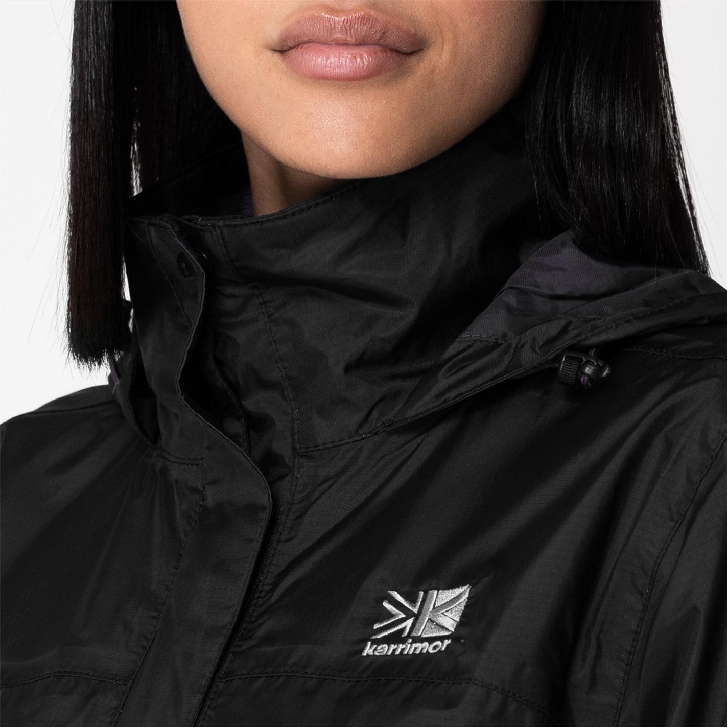 Jacheta Karrimor Sierra Weathertite pentru Femei negru r mov