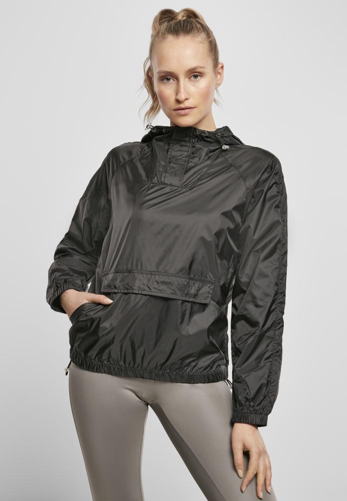 Mergi la Jacheta Pulover Transparent Light pentru Femei negru Urban Classics