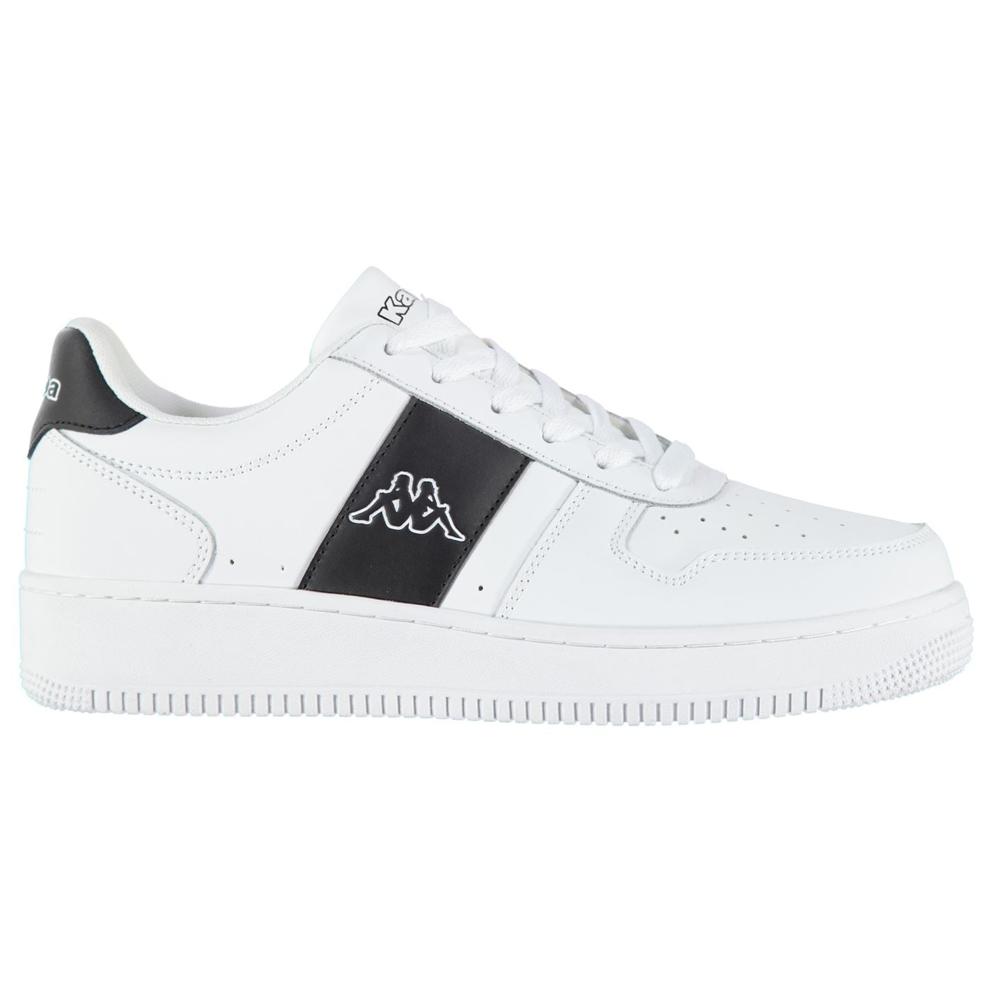 Adidasi sport Kappa La Morra pentru Barbati alb negru