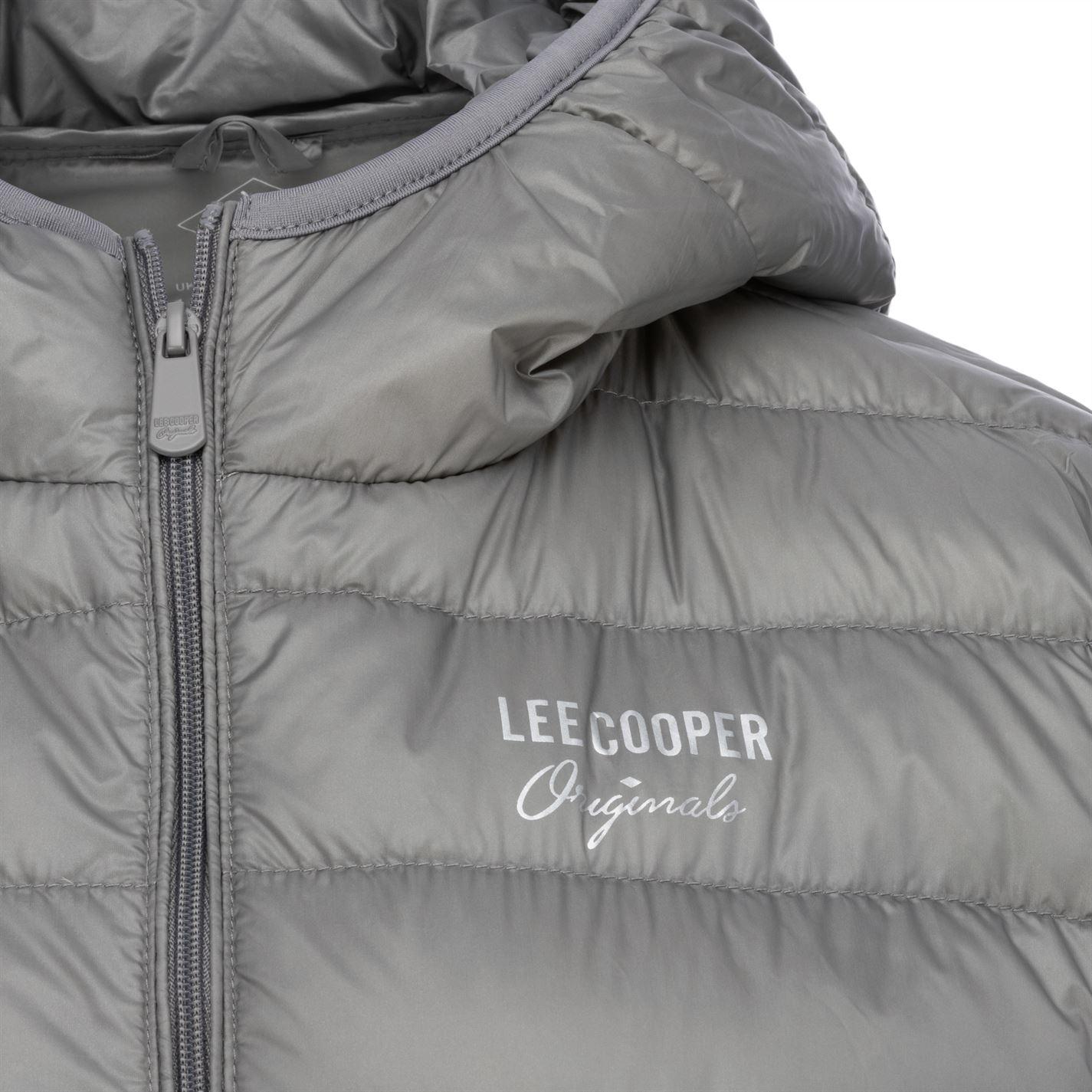 Jacheta Lee Cooper Micro cu gluga pentru Femei gri