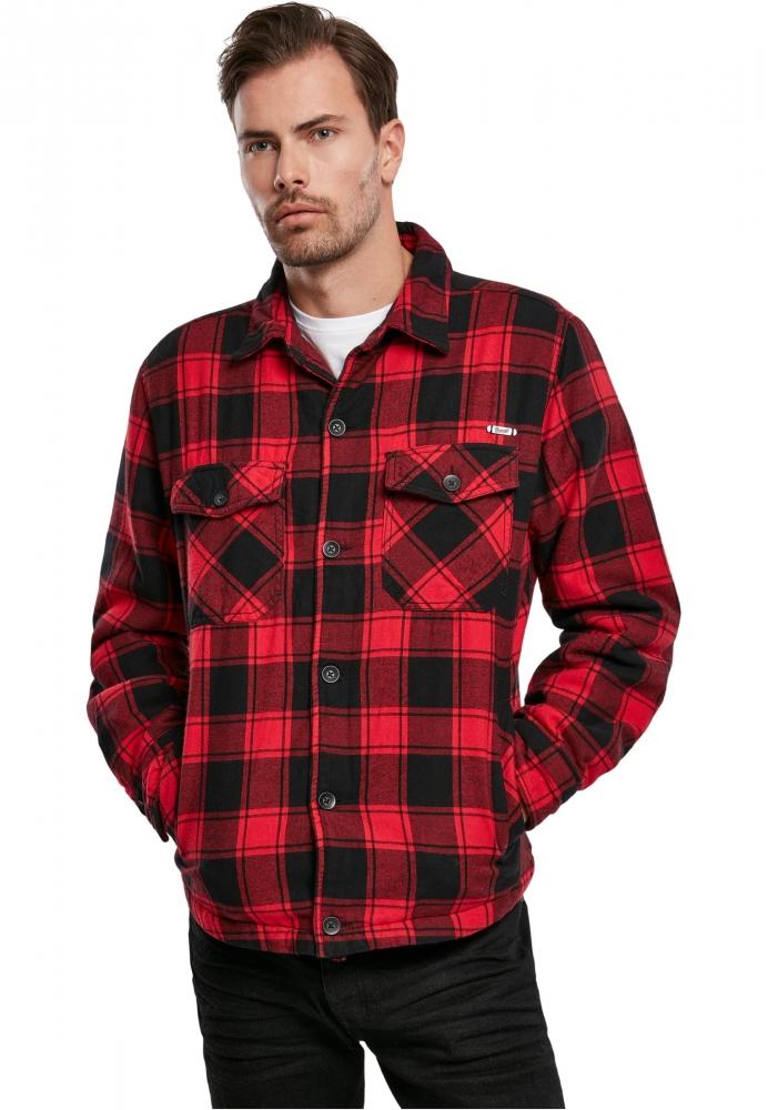 Mergi la Lumberjacket rosu-negru Brandit