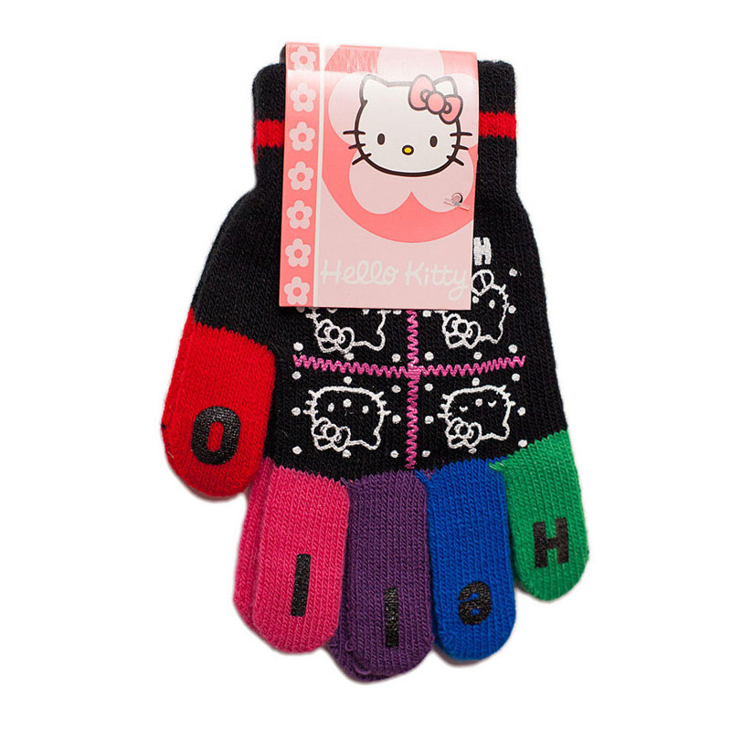 Manusi Colorful Fingers Hello Kitty