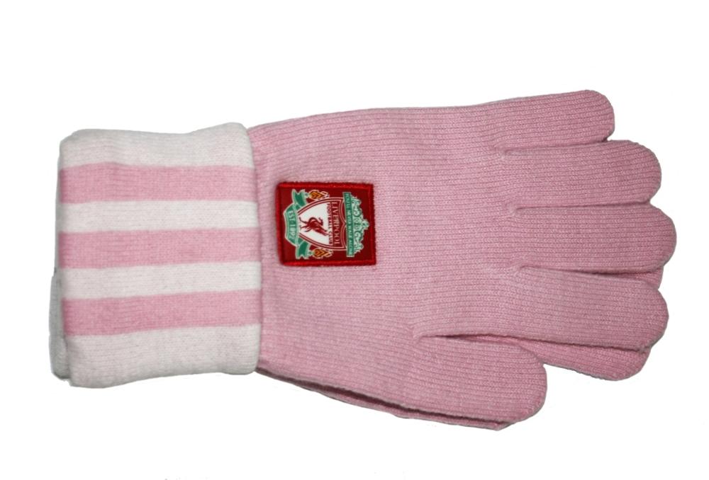 Manusi femei Manusi Adidas Liverpool Pink Adidas