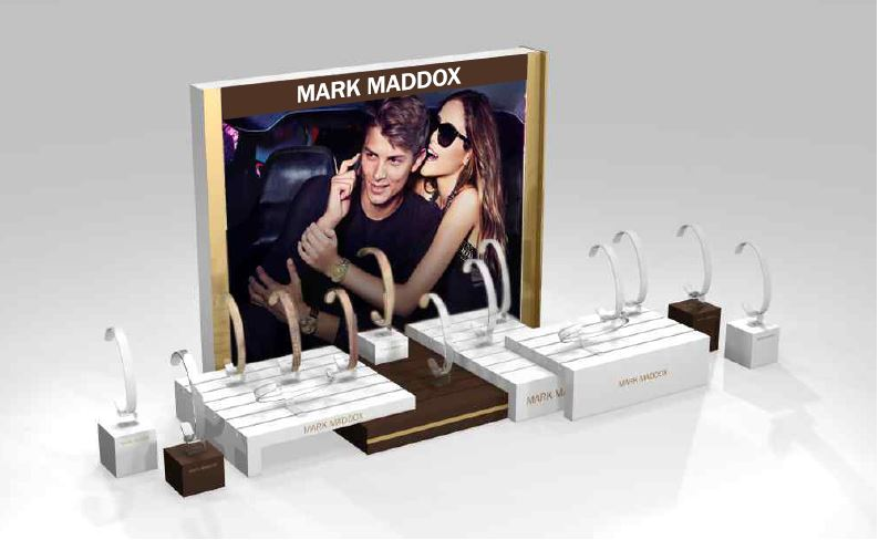Mark Maddox Mod Mmexpgr Display 15 Pc