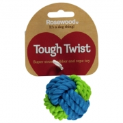 Mega Value Cauciuc And Rope Ball Dog Toy