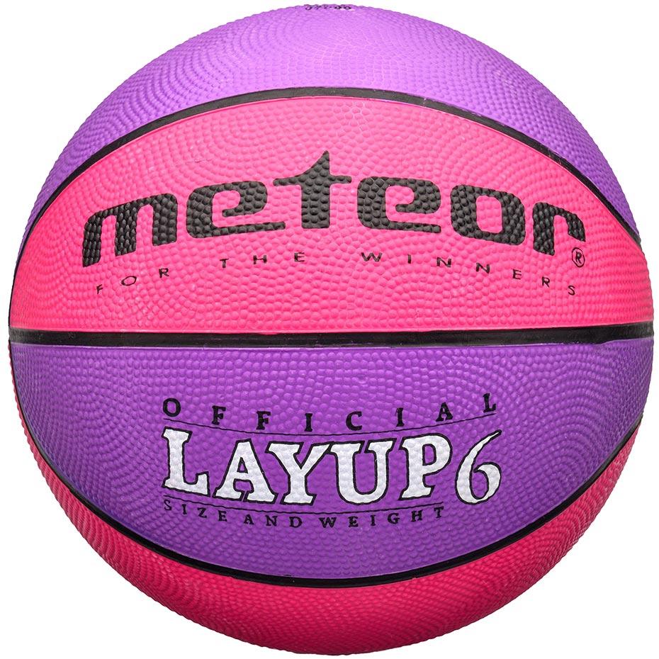 Mergi la Mingi de Baschet Meteor Layup roz-mov 07088